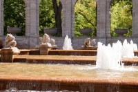 28. Mai 2017 - Märchenbrunnen im Volkspark Friedrichshain.