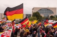 """1. Juli 2017 - """"Wir für Deutschland"""" - """"Merkel muss weg"""" in Berlin"""